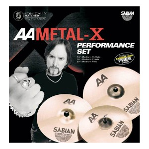 Sabian AA Metal-X Performance Set