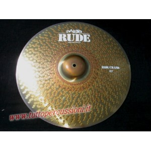 Paiste Rude ride crash  20