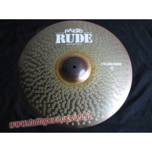 Paiste Rude crash ride 18