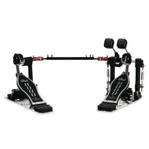 DW 8002 - Doppio pedale a doppia catena - Con Custodia Semirigida in SPS DW
