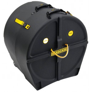 HARDCASE HN20B - Custodia rigida con ruote per grancassa 20