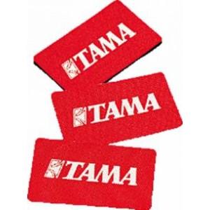 Tama MHS53 - Set Adesivo Proteggi Cerchio Cassa con logo Tama - Confezione 3 pezzi