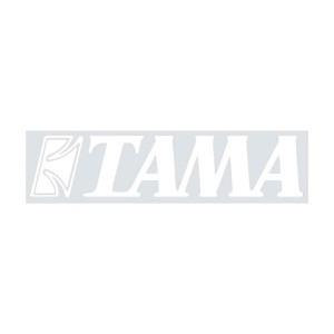 Tama TLS100-WH - Adesivo Bianco Per Pelle Frontale Cassa - Da applicare su pelle Nera