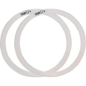 """Remo RO 0014 00 14"""" - Control Ring Wide Film - 2 pezzi 1"""" e 1½"""" - Cerchio per pelle battente"""
