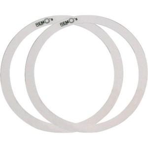 "Remo ZR3 - Zero Rings Floor tom - Confezione 2 ring da 14"" e 16"""