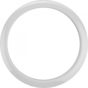 "Bass Drum O's HW5 - Ring Black - Cerchio per foro cassa 5"" - Bianco"