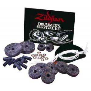 Zildjian Survival Kit - Confezione feltri piatti, tubi e corde rullante