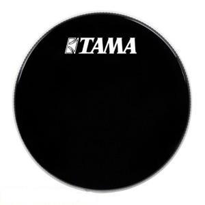 "Tama BK22BMWS - Pelle Risonante Grancassa 22"" - Nera con logo bianco grande Tama"