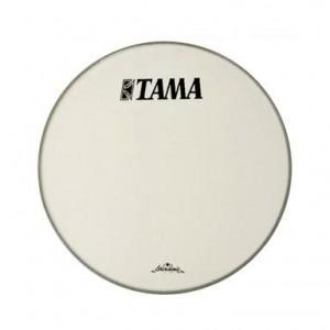 "Tama  CT22BMOT - Pelle Risonante Grancassa 22"" - Bianca con logo nero grande Tama"
