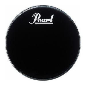 """Pearl PTH 22PL - Pelle Risonante Grancassa 22"""" Nera con logo bianco Pearl - Con Rims interno"""
