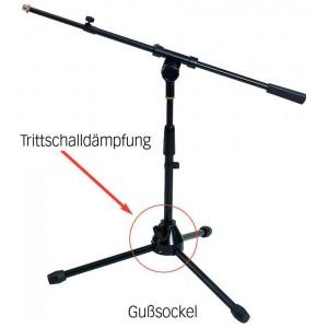 BSX stand microfono per grancassa o charleston Altezza  43cm - 65 cm