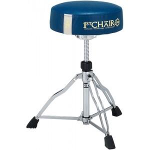 Tama HT430E 10BL - 1st Chair Round Rider - Seduta Blu con banda bianca - LIMITED EDITION