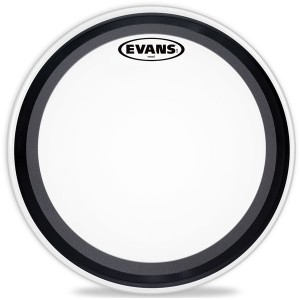 Evans BD18EMADCW - EMAD Bass Batter Head Coated (Battente Sabbiata) 18""