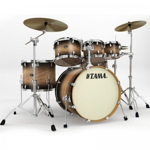 Tama Silverstar VT62K-DDA - Colore Dark Desert Tamo Ash - Shell Kit (6 Fusti) ) - LIMITED EDITION