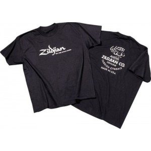 Zildjian T-shirt Classic Black - Taglia S