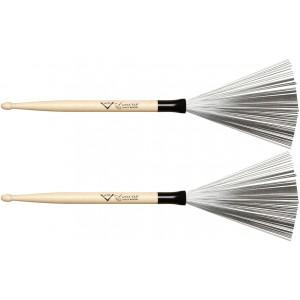 Vater VWTD - Wire Tap Drumstick Brush - Doppio utilizzo - Con Punta 5A