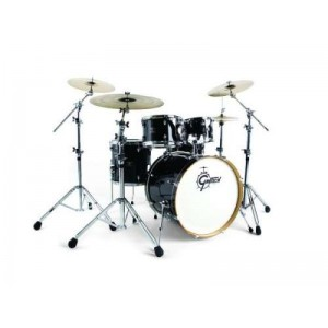 GRETSCH Catalina Club - Gloss Ebony Lacquer - Kit  5 fusti