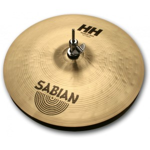 Sabian Hand Hammered Medium hats 14 Brilliant