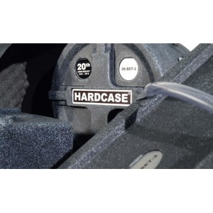 HARDCASE HSTANDARD - Set custodie RIGIDE per Batteria 5 pezzi - 20th Anniversary LIMITED EDITION