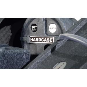 HARDCASE HSTANDARD - Set custodie RIGIDE per Batteria 5 pezzi - 20th Anniversary LIMITED EDITION