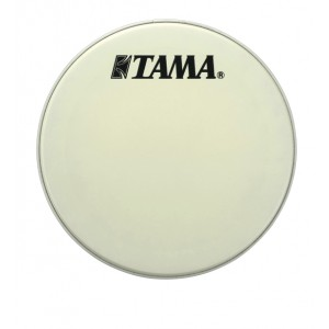 "Tama CT18BMSV - Pelle Risonante Grancassa 18"" - Bianca Con Logo Nero Grande Tama"