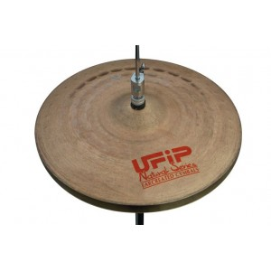Ufip Natural Series Light Hi Hat 13 - Red Logo