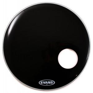 "Evans BD22RB – EQ3 Resonant  Black (Risonante Nera con Foro 5"") 22"""