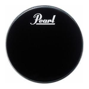 """Pearl EB 18BDPL - Pelle Risonante Grancassa 18"""" Nera con logo bianco Pearl"""