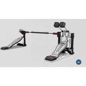 DW 9002 CP - Doppio pedale a doppia catena - Con Custodia Rigida ABS