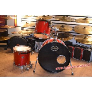 Tama Starclassic Performer Made in Japan - 3 Pz.Trasparent Red