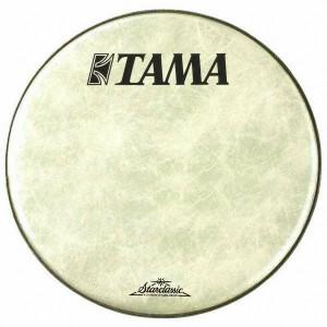 "Tama FB22BMFS - Pelle frontale grancassa 22"" bianca Fiber Laminated - Logo Tama"