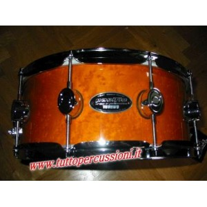 "Pacific Drums by DW SXE Amber Lacquer 14""x6"""