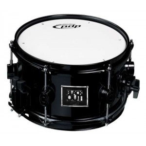 """PDP Pacific Drums by DW Black Out 10"""" x 6"""" in Acero"""