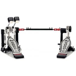DW 9002 PBL - Doppio pedale MANCINO a doppia catena - Con Custodia Semirigida