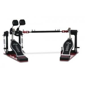 DW 5002 TDL3 - Doppio pedale MANCINO a doppia catena - Con Custodia Rigida DW in ABS