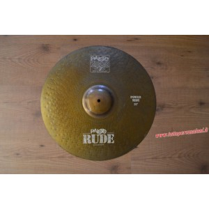 "Paiste Rude Power Ride 20"" - Usato"