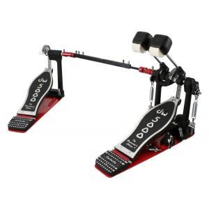 DW 5002 AD4 - Doppio pedale a doppia catena - Con Custodia Semirigida DW in ABS