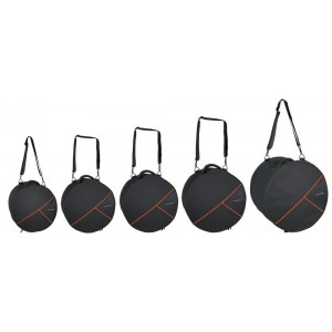 "GEWA SET GIG-BAG PER BATTERIA PREMIUM 22x18, 10x9, 12x10, 14x14, 14x6,5"""