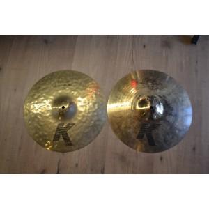Zildjian K Custom Session Hats 14 - Usato