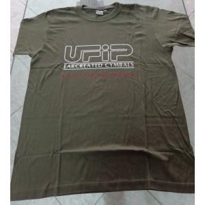 UFIP T-shirt Verde - Maglietta a maniche corte Taglia L- Logo Ufip Grande