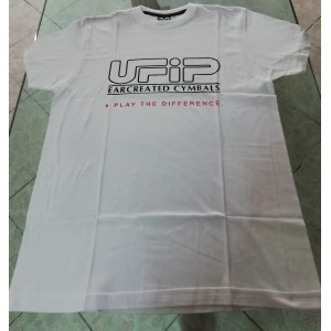 UFIP T-Shirt Bianca - Maglietta a maniche corte UFIP - Taglia L
