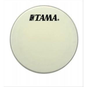 "Tama CT24BMSV - Pelle Risonante Grancassa 24"" - Bianca Con Logo Nero Grande Tama"