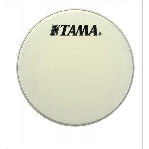 "Tama CT20BMOT - Pelle Risonante Grancassa 20""Bianca con logo nero grande Tama"