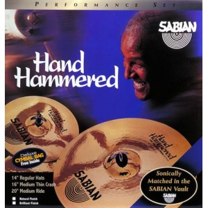 Sabian Hand Hammered Performance Set